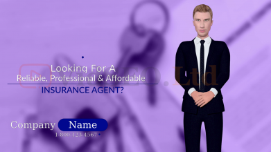 Insurance Agent 3D Animation Presentation Video
