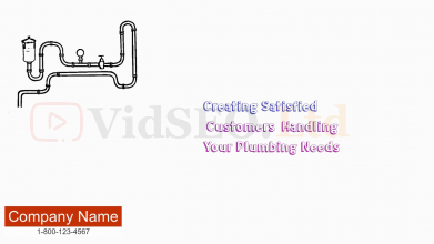 Plumber Whiteboard Animation Presentation Video
